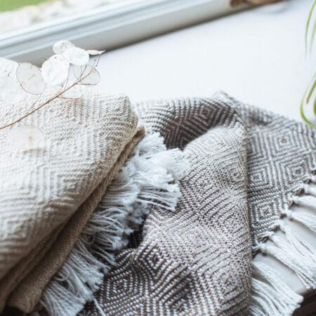 Weaver Green Blankets
