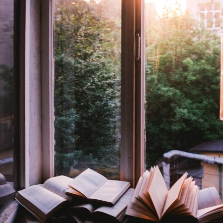 Combe Grove 5 Recommended reads - open books