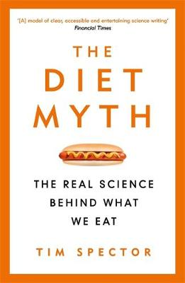 The diet myth by Tim Spector Book Cover