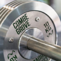 Combe Grove Gym in Bath - Engraved weights